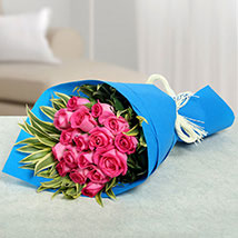 17 Pink Roses Bunch: Mother's Day Gift Ideas