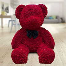 1000 Red Roses Teddy: Karwa Chauth Gifts