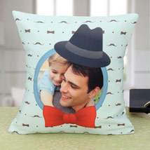 Adorable Personalized Cushion: Personalised Gifts for Father
