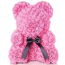 Artificial Roses Teddy Light Pink: