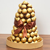 Belgian Chocolate Tower:  Business Gifts