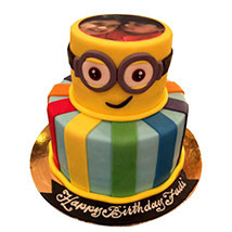 Bob the Minion Cake: Minion Birthday Cake