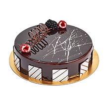Chocolate Truffle Birthday Cake:  Eggless Cake Delivery