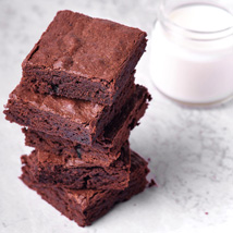 Classic Chocolatey Brownies: