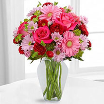 Color Your Day With Happines Bouquet: Mother's Day Gift Ideas