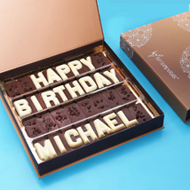 Customized Birthday Chocolate: Personalized Gifts for Her