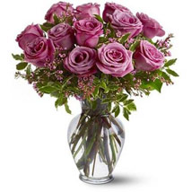 Dozen Levender Roses: Mothers Day Gifts