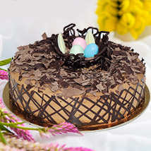 Easter Chocolate Nest Cake: Easter Gifts