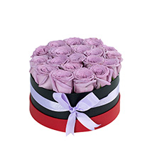Enticing Purple Roses Arrangement: Mother's Day Gift Ideas