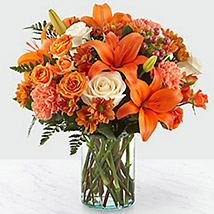Fascinating Floral Arrangement: Halloween Flowers