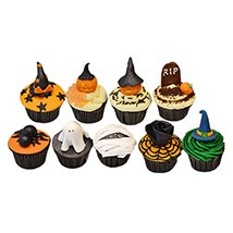 Halloween Assorted Cup Cakes: Halloween Cupcakes
