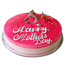 Happy Mothers Day Strawberry Cake: Mothers Day Gifts