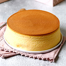 Japanese Cheesecake Vanilla 4 Portion: Anniversary Cakes