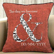 Memorize The Date: Personalised Cushions