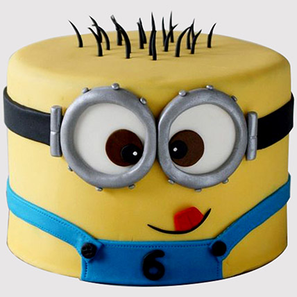 Minion Themed Cake: Minion Cake