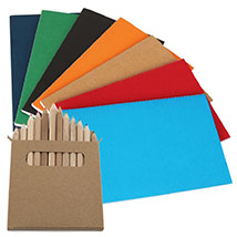 Notebook and Pencil Set: Back to School Gifts