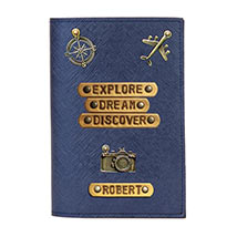 Personalised Discover Passport Cover: Accessories