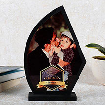 Personalized Wooden Trophy For Dad: Personalised Gifts to Sharjah