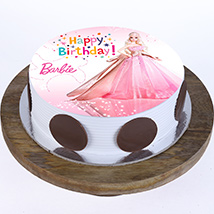 Princess Barbie Cake: Barbie Cake