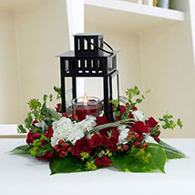 Ravishing Center Table Flower Arrangement: Home Decor Items