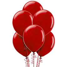 Red Helium Balloons: Balloons