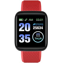 Red N Black Activity Tracker Watch: Unique Gifts