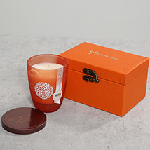Scented Candle In A Gift Box: Home Decor Items