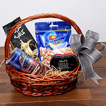 Snack and Sweet Basket: Birthday Gift Hampers