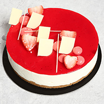 Strawberry Cheesecake: Cheesecakes Delivery Dubai