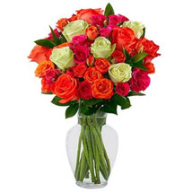 Summer Sunrise Rose Bouquet: Mother's Day Gift Ideas