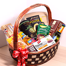 Sweet And Salty Treats Basket:
