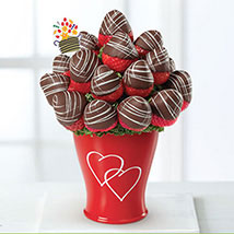 Sweetheart Swizzle Bouquet: Edible Arrangements