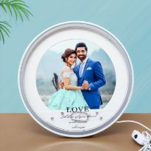 Table Top LED Photo Frame: Personalised Photo Frames