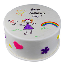 Tasty Happy Mothers Day Cake: Mothers Day Gifts