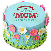Thanks Mom Cake: Mother's Day Gift Ideas