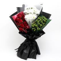 UAE Flag Floral Bunch: National Day Gifts