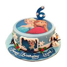 Elsa N Anna Cake: Designer Cakes
