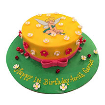 Tinkerbell Fairy Cake: Tinkerbell Birthday Cakes