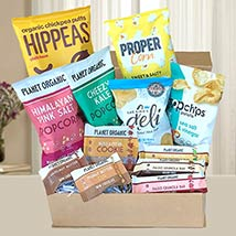 Gourmet Healthy Snack Hamper: Gifts for Boss