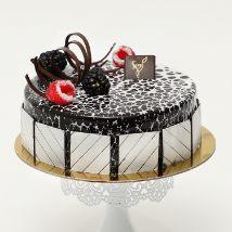 500gm Chocolate Truffle: Wedding Anniversary Cake