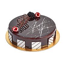 Chocolate Truffle Birthday Cake: Eggless Birthday Cakes