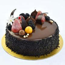 4 Portion Fudge Cake: Farewell Cakes