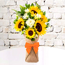 Sunflower Galore Bunch: Gifts for Boss