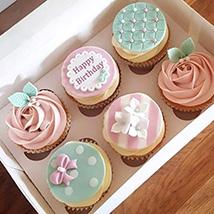 Birthday Decorated Cupcakes: Birthday Cupcake