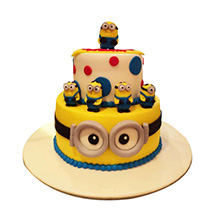 World of Minions Cake: Minion Cake