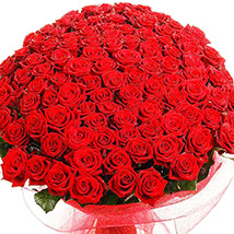 500 Red Rose Bouquet: Flower Delivery Pakistan