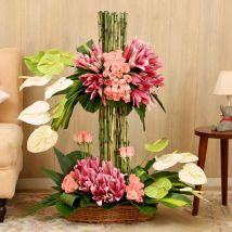 Layers Of Flowers: Saudi Arabia Gift Delivery