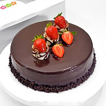 Choco Strawberry Delight:  Gift Delivery In Sri Lanka
