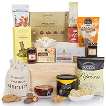 Deluxe Sweet And Salty Gift Hamper:  Gifts UK